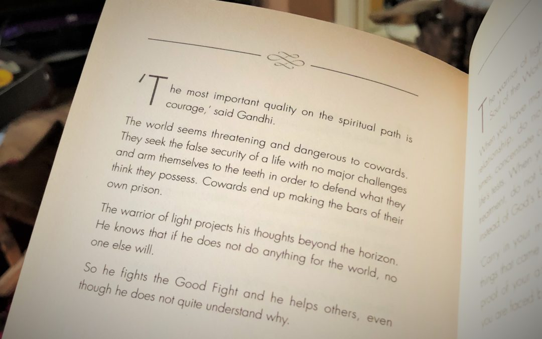 Quote from Manual of The Warrior of Light